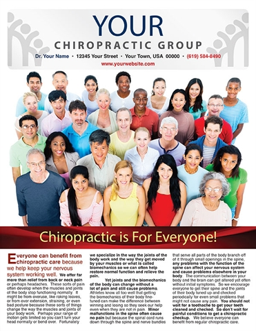 Chiropractic is for Everyone!