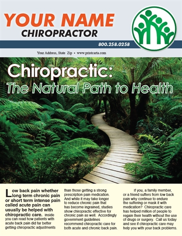 Chiropractic: The Natural Path to Health