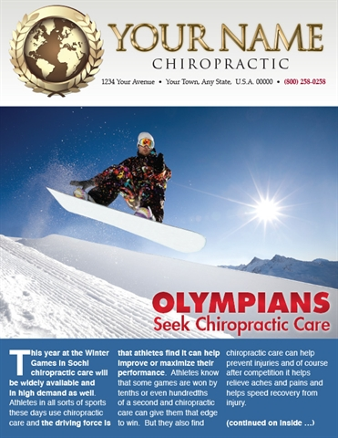 Olympians Seek Chiropractic Care