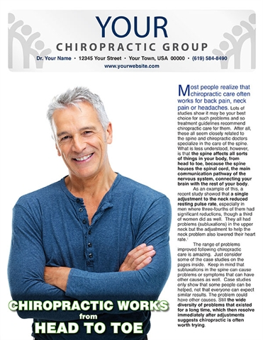 Chiropractic Works from Head to Toe