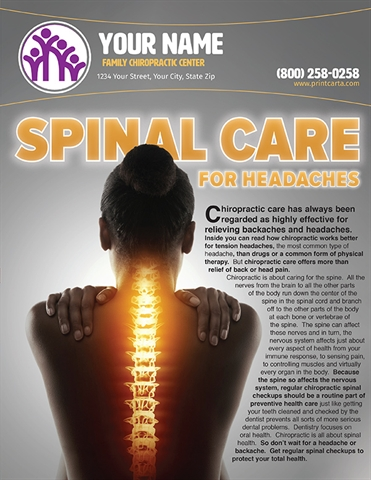 Spinal Care for Headaches
