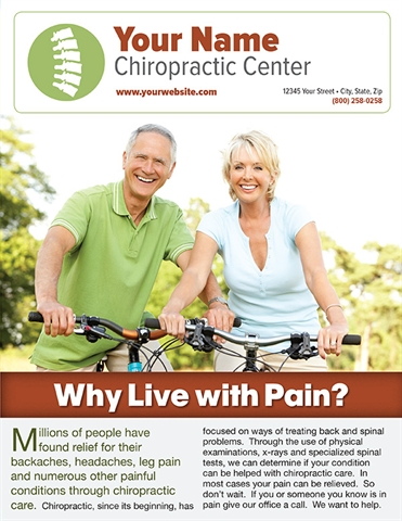 Why Live with Pain?