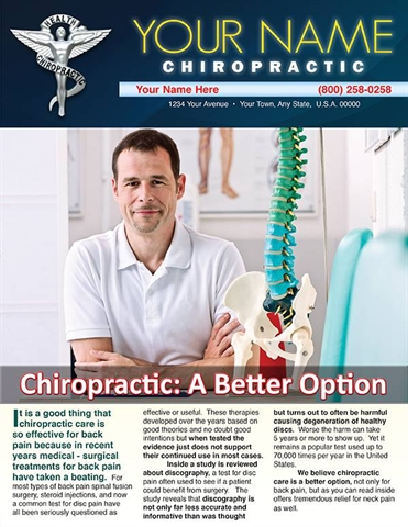 Chiropractic: A Better Option