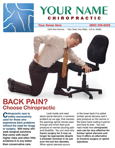 Back Pain? Choose Chiropractic