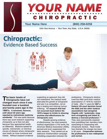 Chiropractic: Evidence Based Success