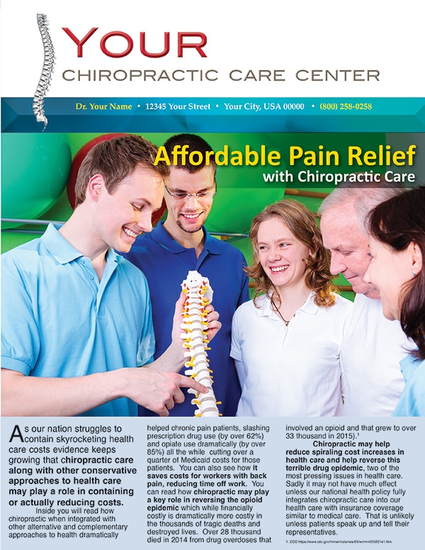 Affordable Pain Relief