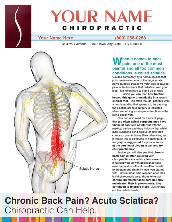 Chronic Back Pain? Acute Sciatica?