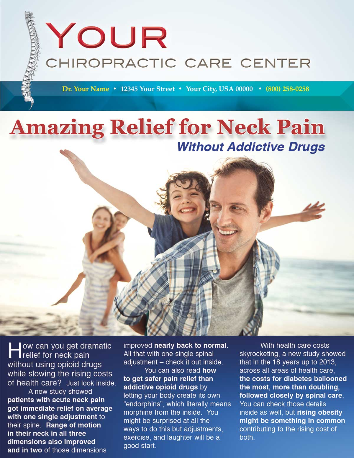 Amazing Relief for Neck Pain