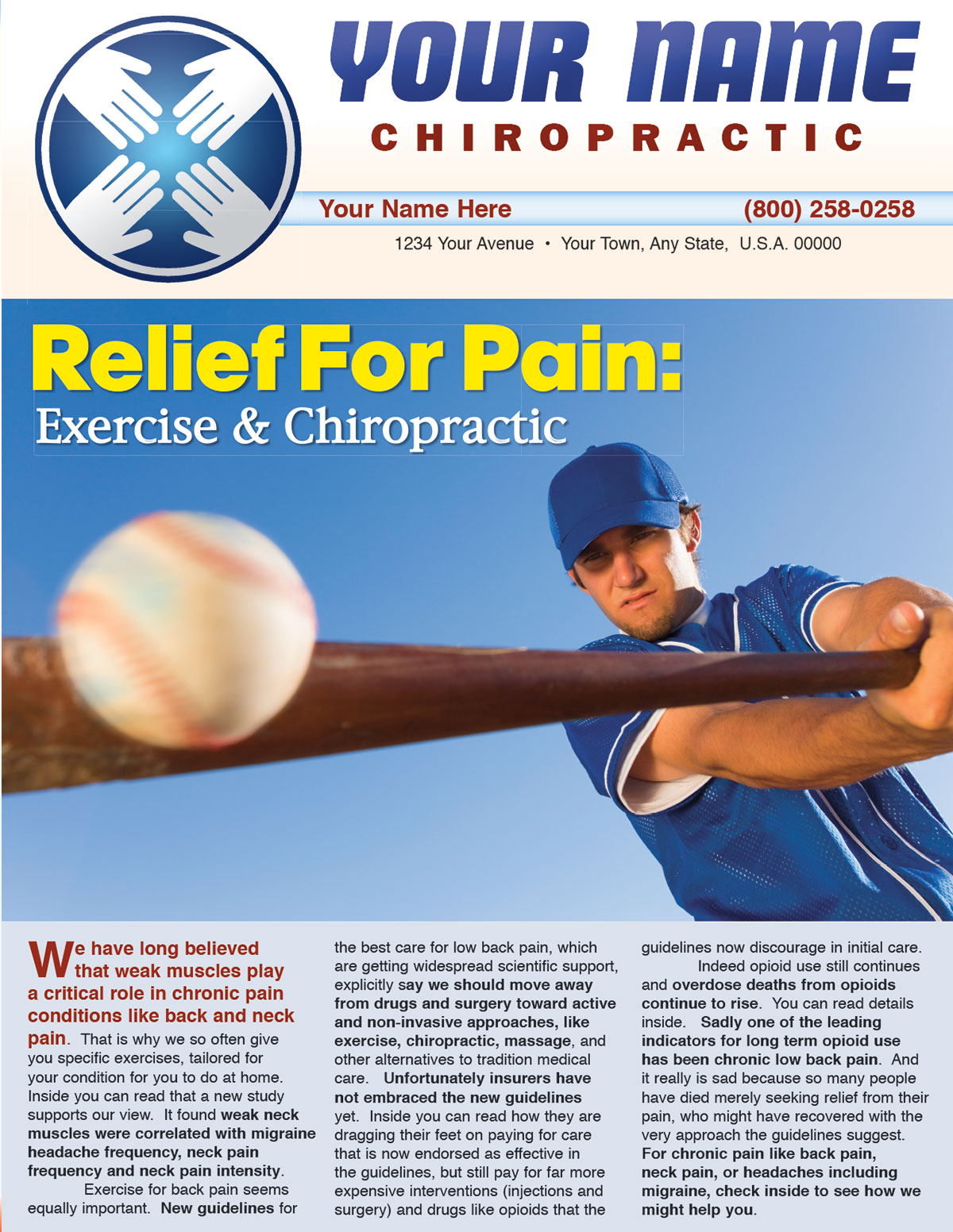 Relief for Pain: Exercise and Chiropractic