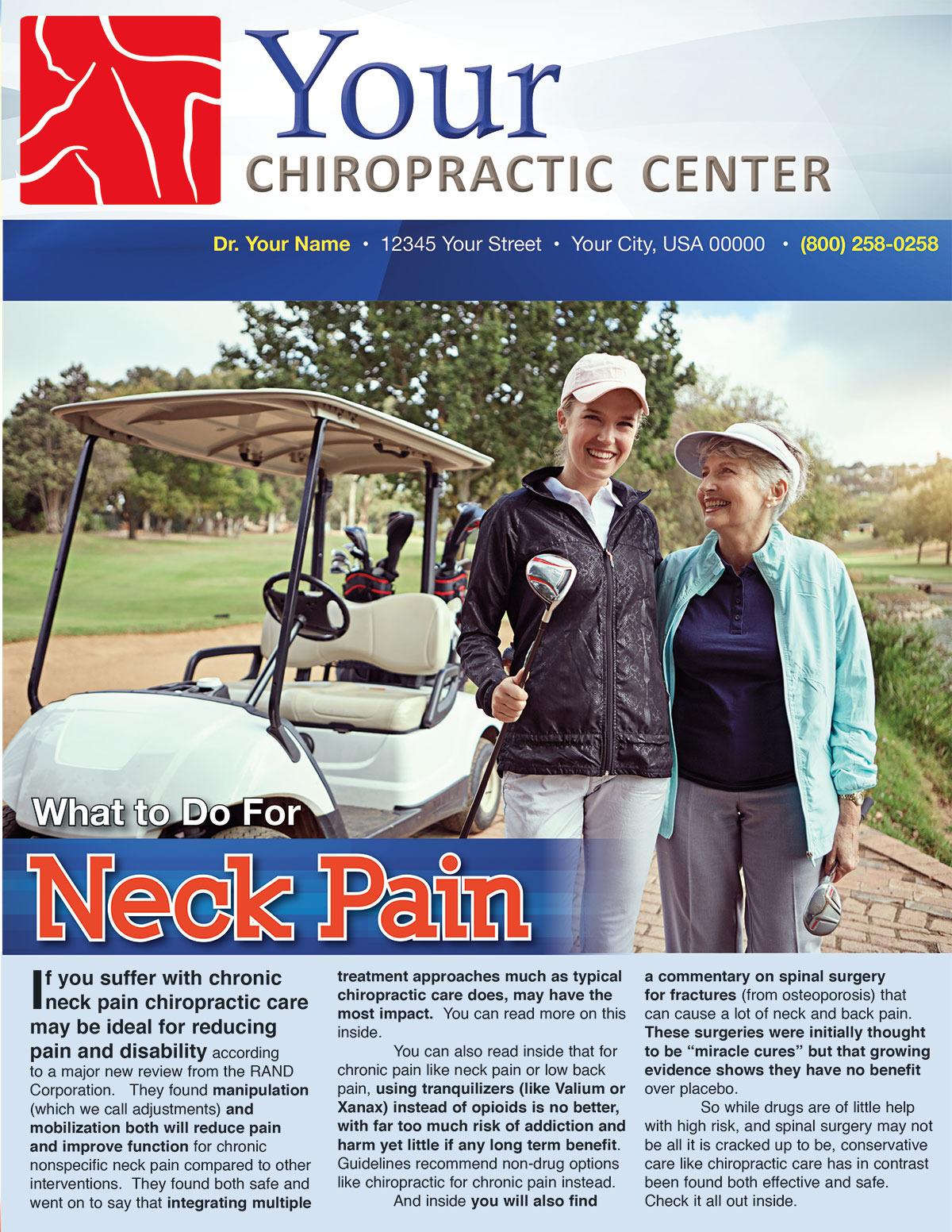 What to Do for Neck Pain