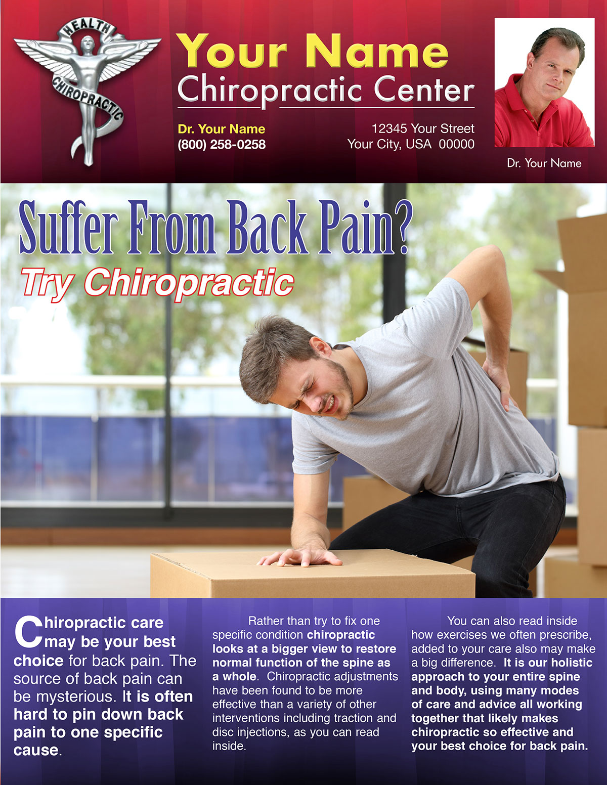 Suffer With Back Pain? Try Chiropractic